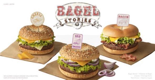 Bagel Burgers
