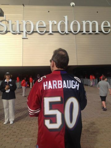 Harbaugh Jersey