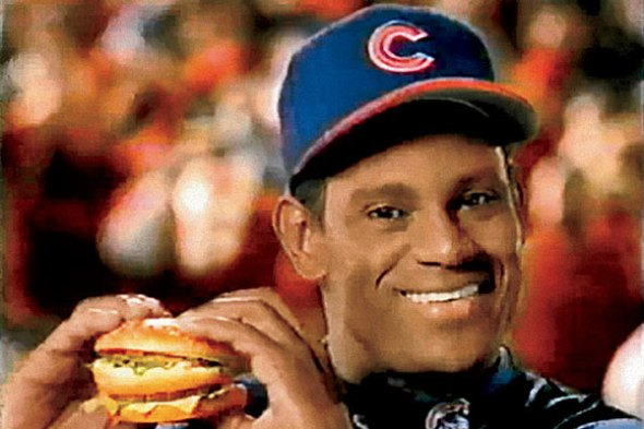 Sammy Sosa Big Mac