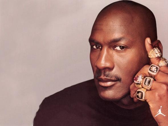 Michael Jordan Rings Big