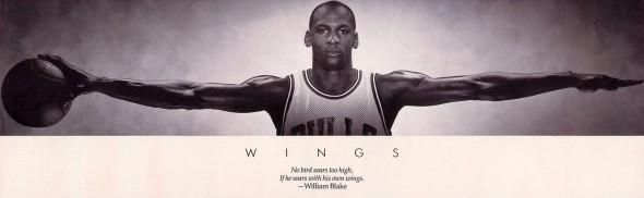 Michael Jordan Wings
