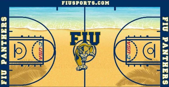 FIU Basketball Court