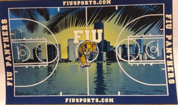 Florida International Basketball Court