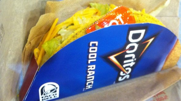 Cool Ranch Doritos Taco Bell