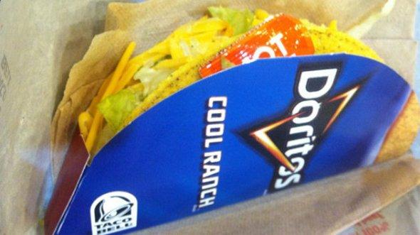 Cool Ranch Doritos Taco Bell