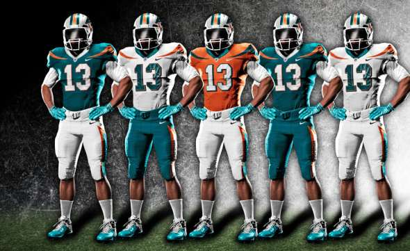 miami-dolphins-nike-uniforms