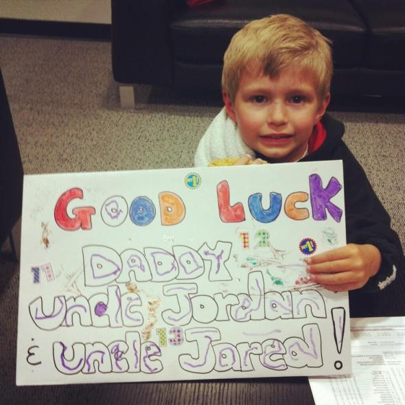 Parker Staal Sign