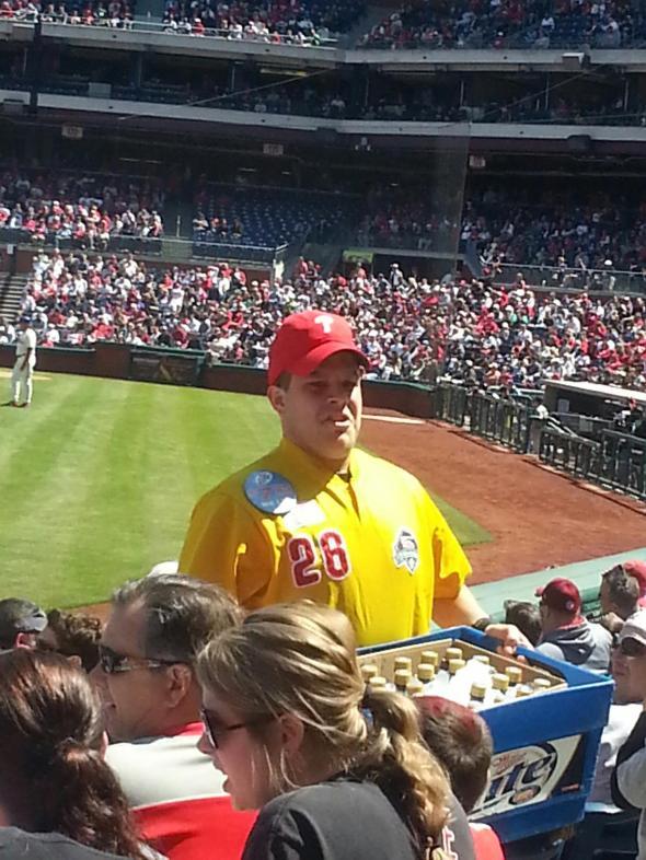 Matt Damon Phillies