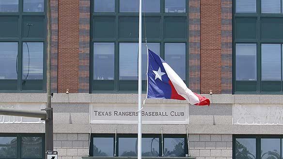 Texas Flag Half Staff