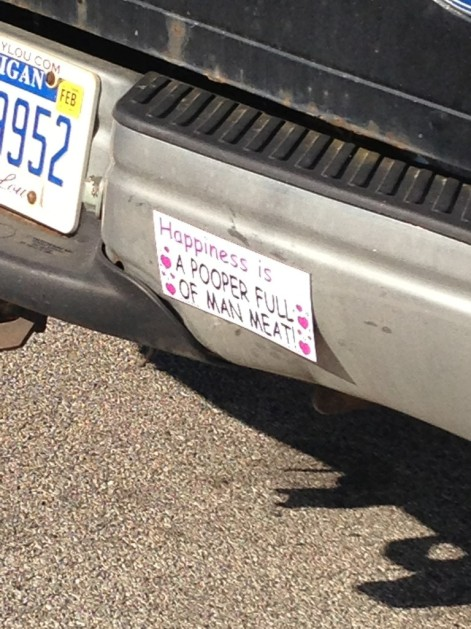 WalMart Bumper Sticker