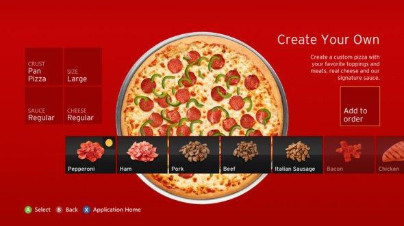 Xbox Pizza Hut