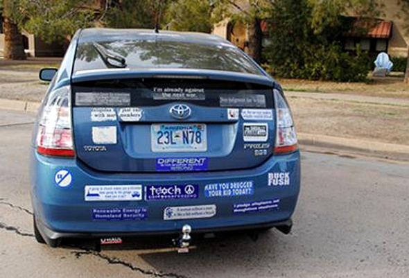 The Types Of Bumper Sticker People Youre Guaranteed To See On A - Custom car bumper stickers
