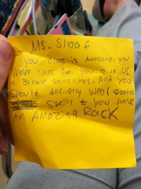 Amazing Rack Note