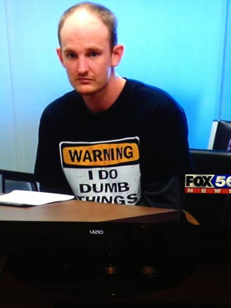 Warning I Do Dumb Things Shirt